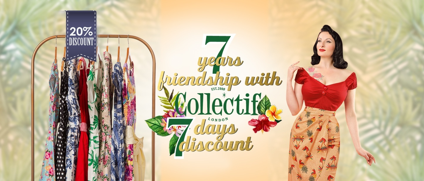 Collectif Clothing 7 years Friendship