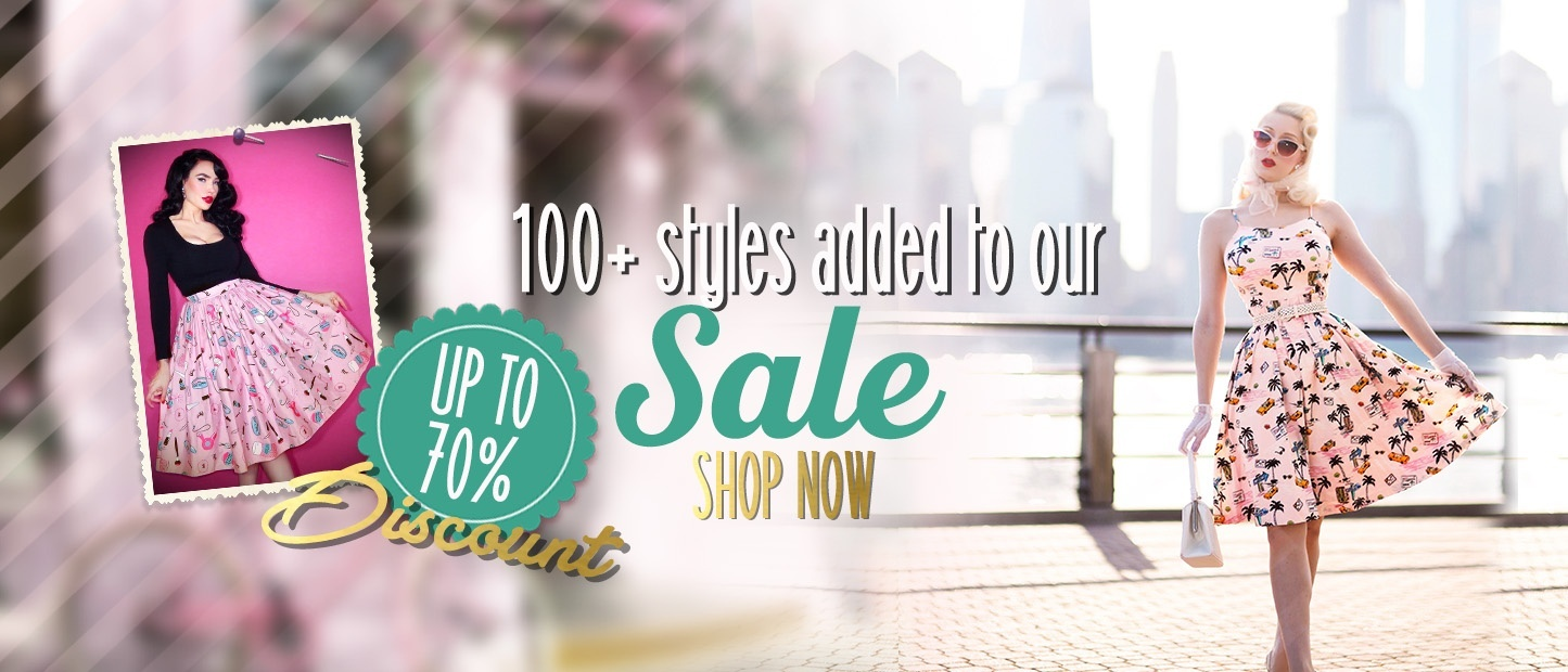 100+ new styles in our sale
