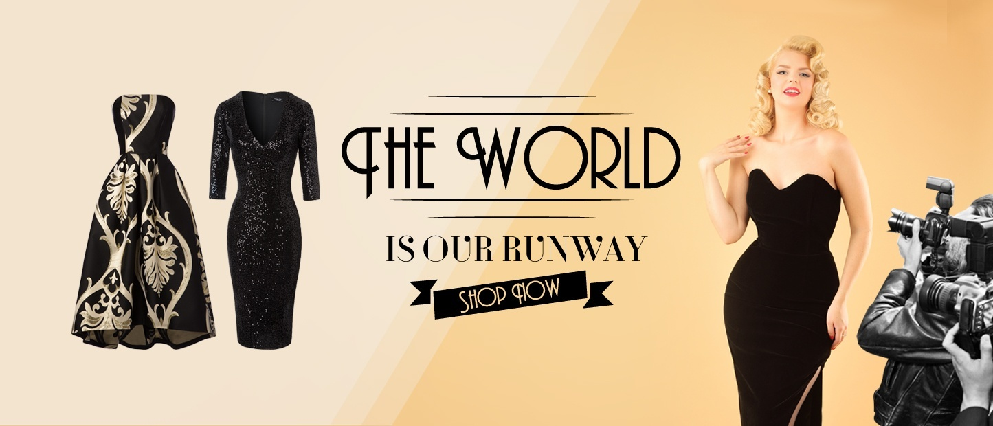 The world is our runway!