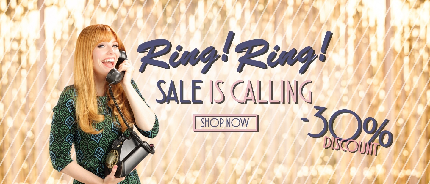 Ring! Ring!  Sale is Calling