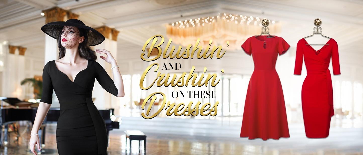Blushin and Crushin