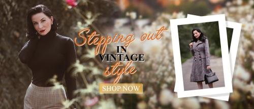 Vintage Clothing Online Shop   TopVintage - Retro Boutique