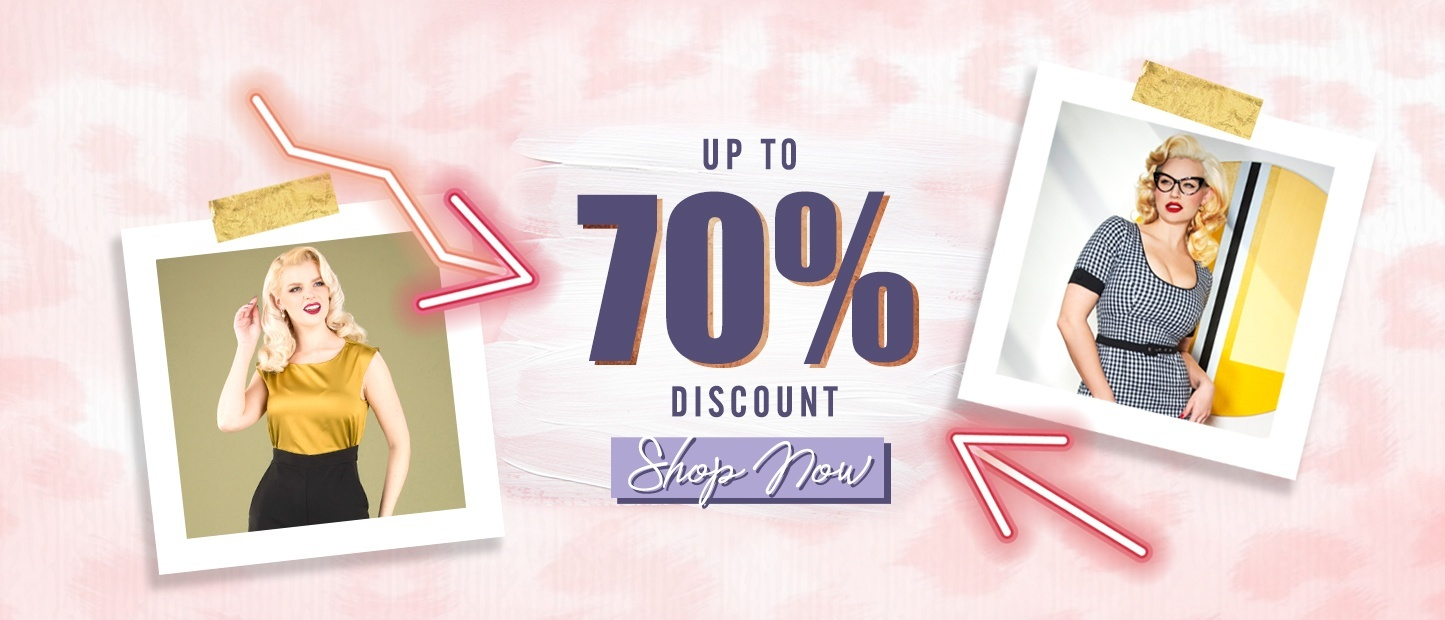 Sale up to 70% discount