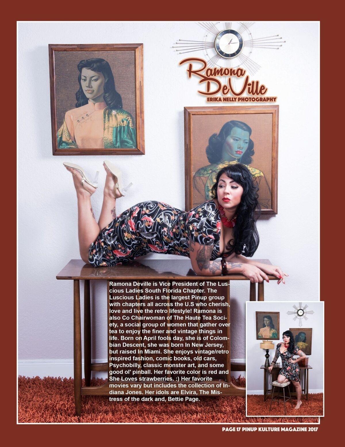 Ramona Deville usa