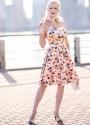 Lindy Bop Pink Miami Marlene Dress 1Rachelannjensen