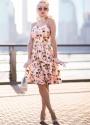 Lindy Bop Pink Miami Marlene Dress Juli  Rachelann