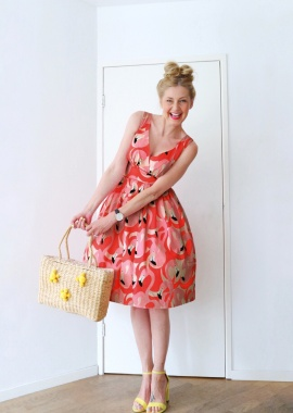 Victory Parade Flamingo Swing Dress 102 29 21500 20170502 01