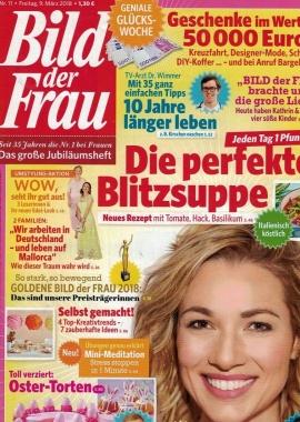 Bild der Frau 09 03 2018 Cover