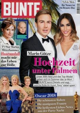 Bunte 08 03 2018 Cover