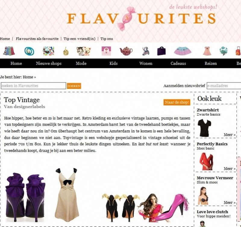 Flavourites de leukste webshops