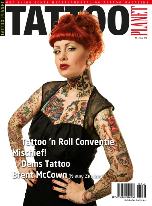 Cover mei 2010 Tattoo planet