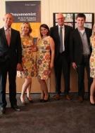 Onno Hoes Burgemeester Maastricht ontvangt studenten Hoge Hotelschool Maastricht sponsered by TopVintage