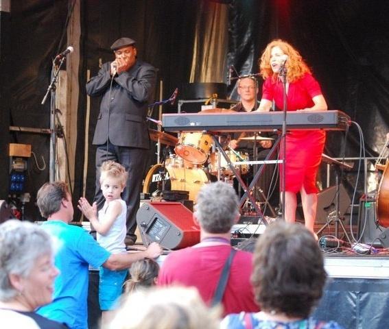 juni 2011 Anke Angel Jazz festival wijk bij duurstede