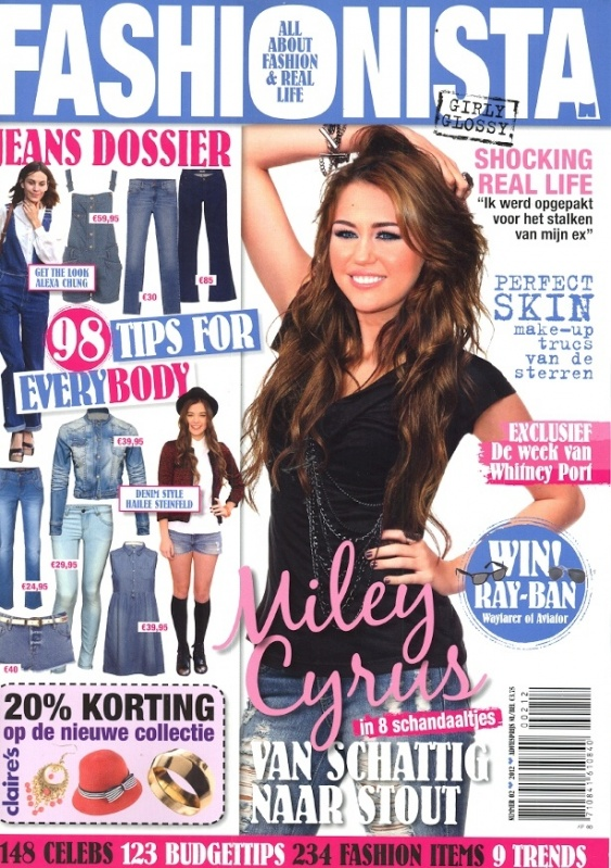 Fashionista 2012 nummer 2 - Cover