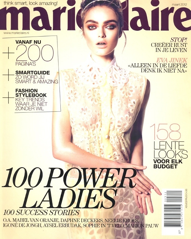 Marie Claire maart 2012 - Cover