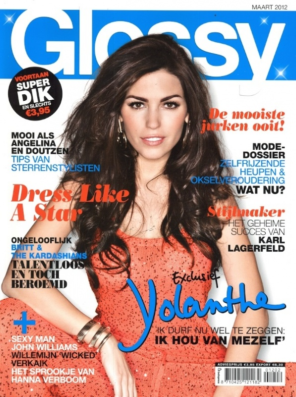 Glossy maart 2012 - Cover