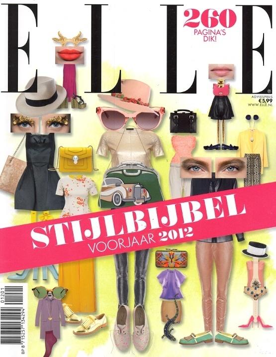 Elle stijlbijbel voorjaar 2012 - Cover
