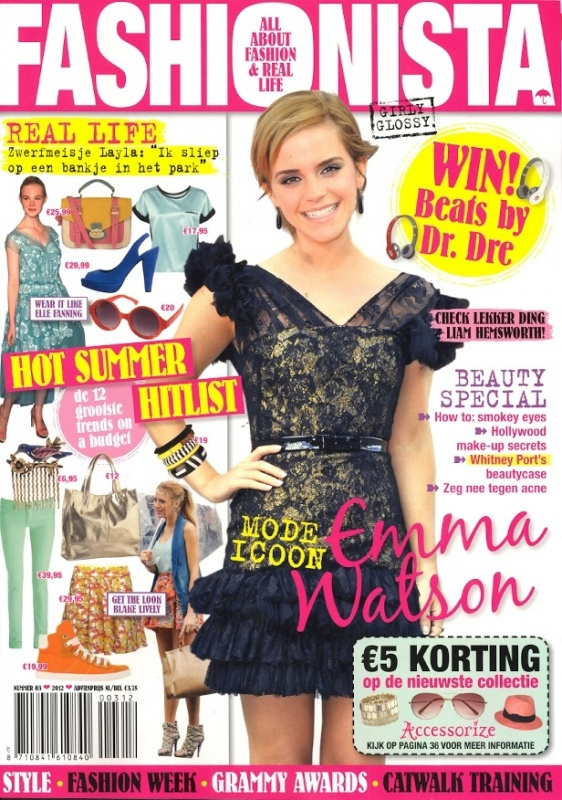 Fashionista nummer 3 - Cover