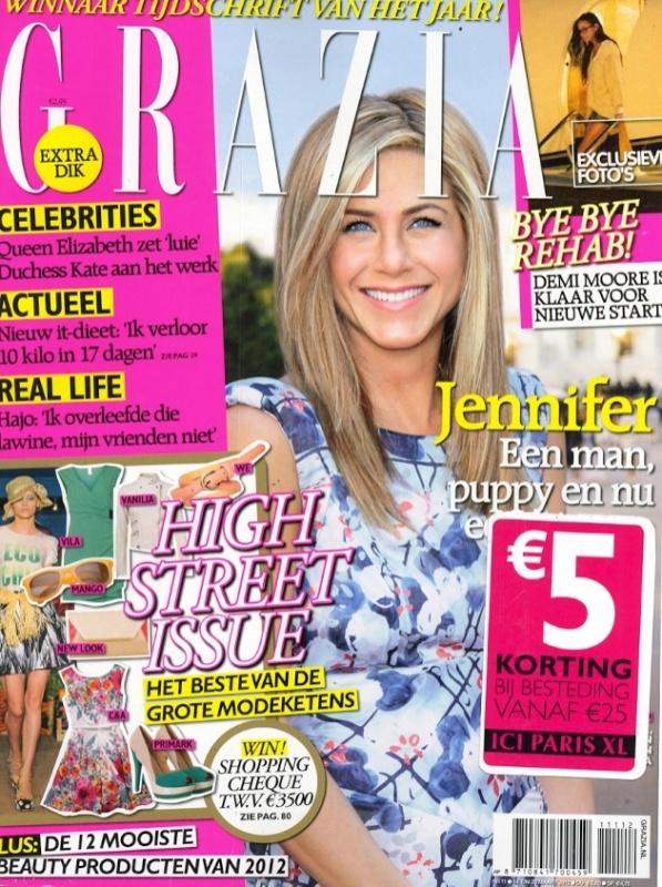 Grazia nummer 11 - Cover