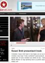 Susan Smit draagt TopVintage jurk tijdens boekpresentatie Zoals jij Bemint