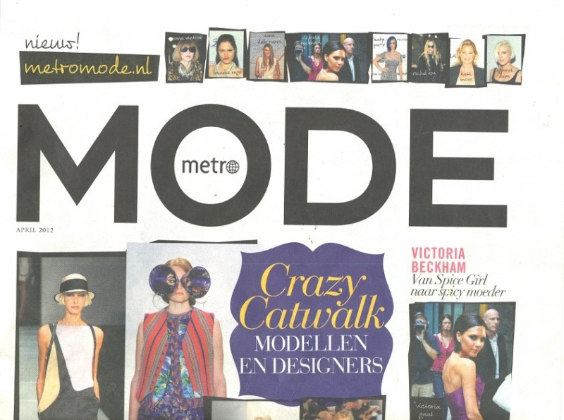 Metro Mode april 2012 - Cover deel 1