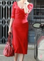 Dita Von Teese Glamour Bunny Red Shirt Dress02