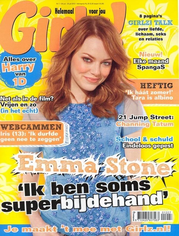 Girlz nummer 7 - Cover
