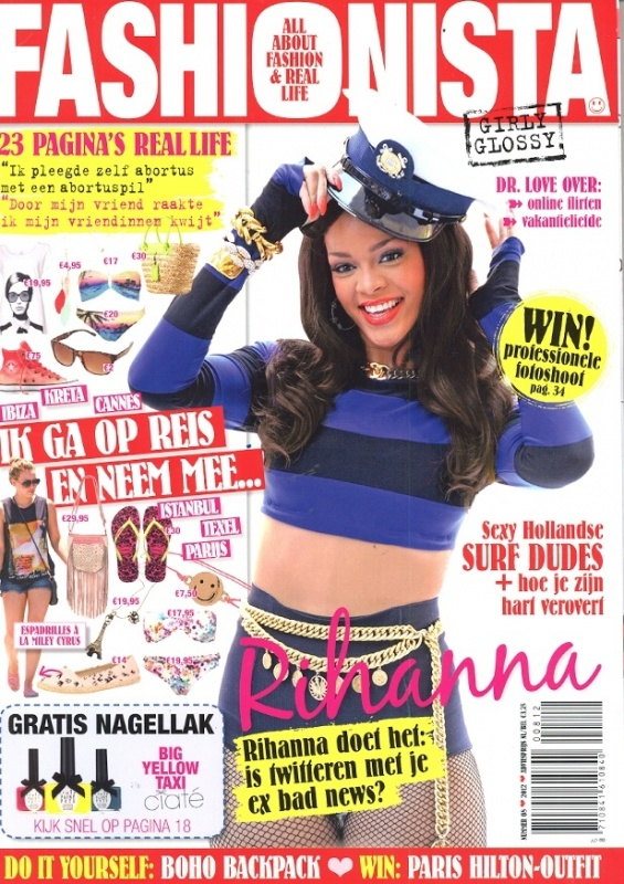 Fashionista nummer 8 - Cover