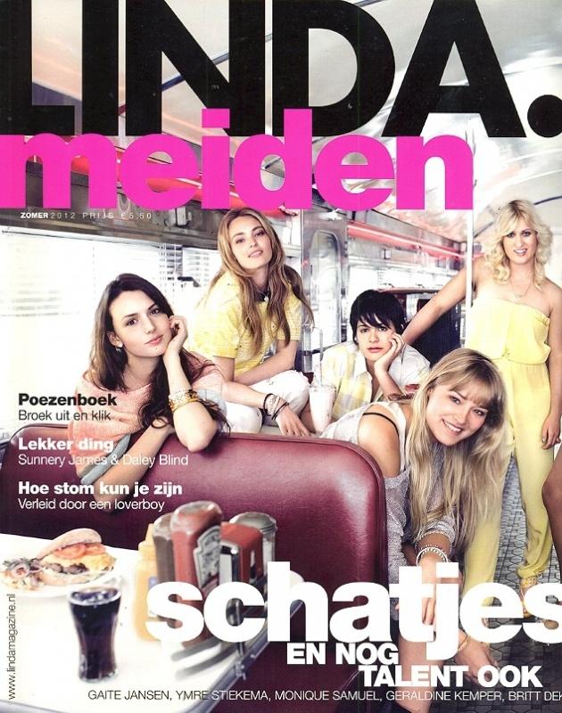 Linda Meiden zomer 2012 - Cover