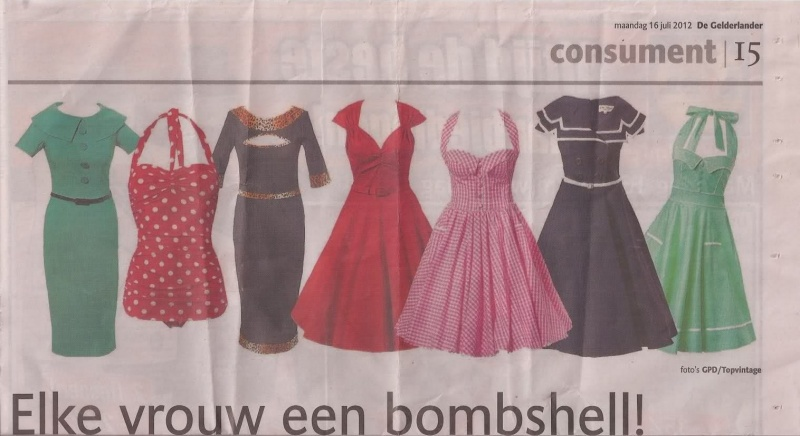 De Gelderlander juli krantenartikel