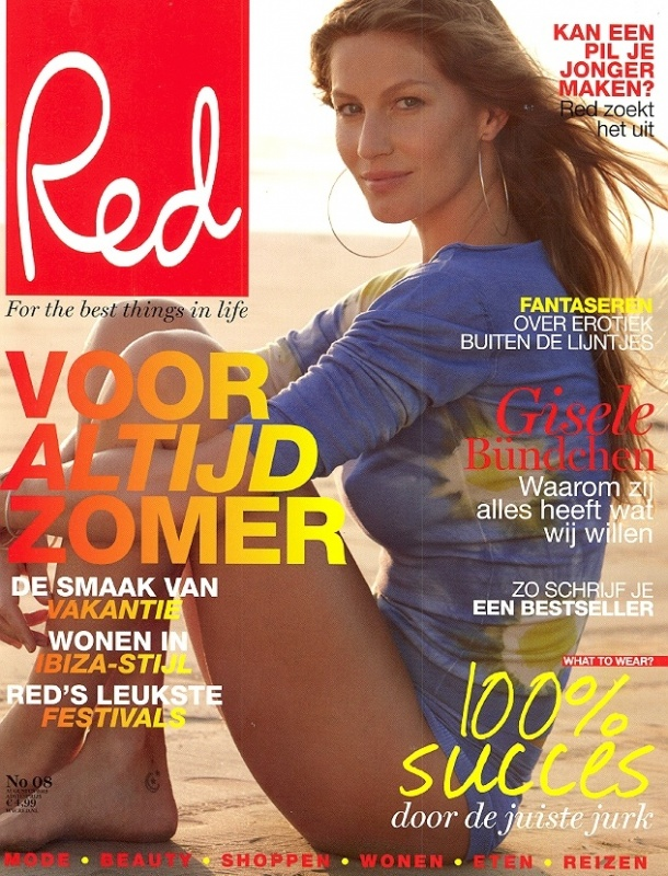 Red nummer 8 - Cover