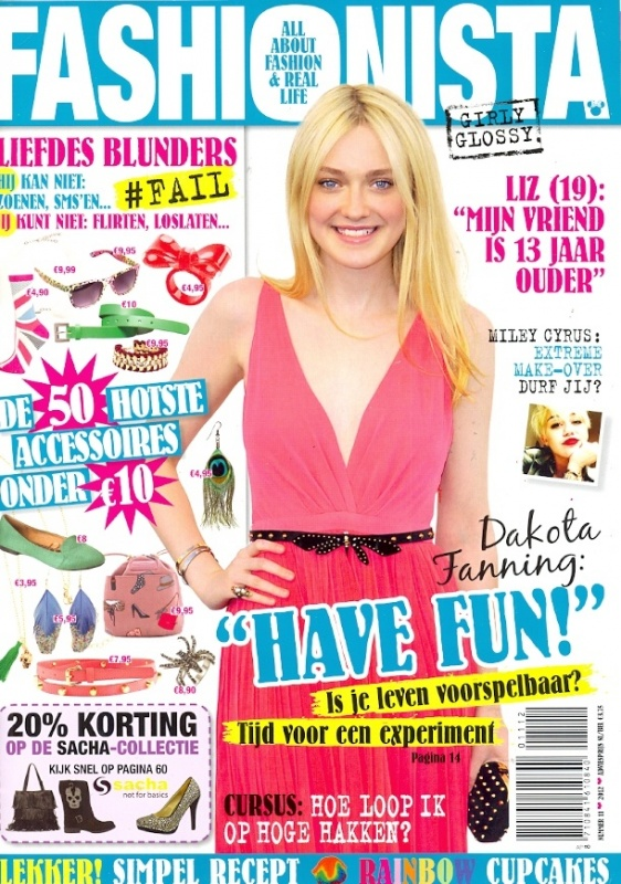 Fashionista - nummer 11 - Cover