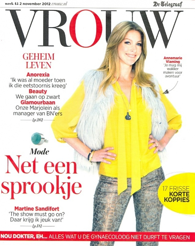 Vrouw - week 45 - Cover