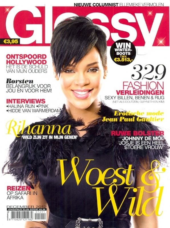 Glossy - december 2012 - Cover