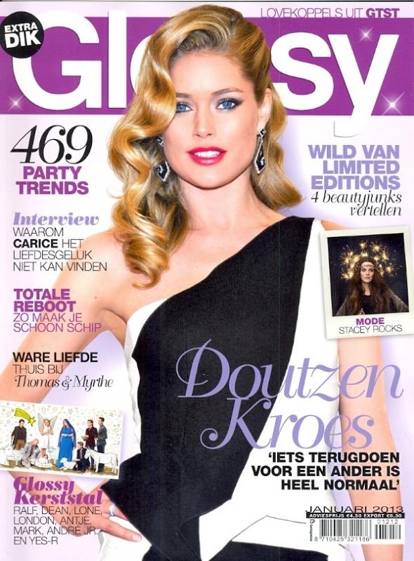 Glossy - januari - Cover