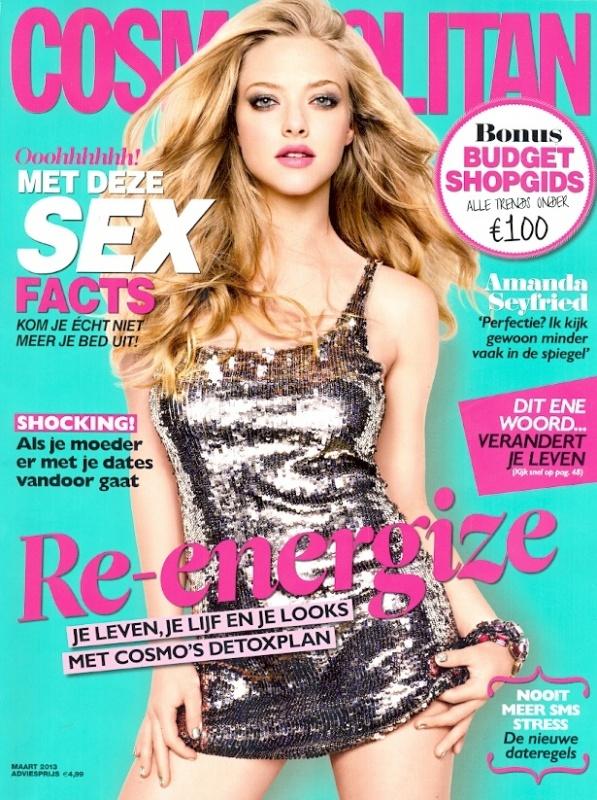Cosmopolitan - maart - Cover