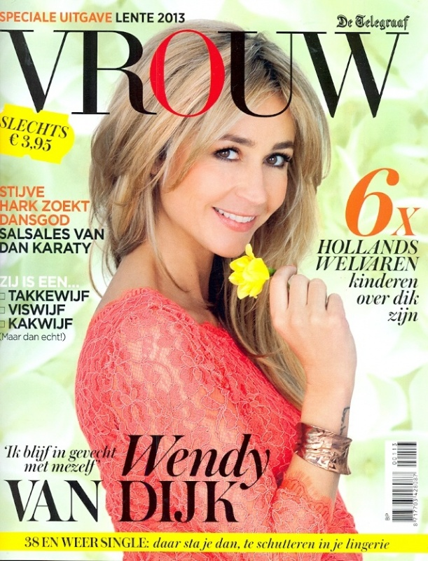 Vrouw - speciale uitgave lente 2013 - Cover