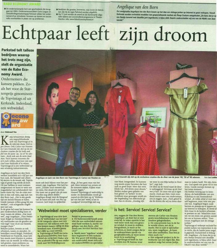 Artikel Limburgs dagblad