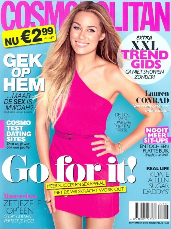 Cosmopolitan   September 2013   Cover