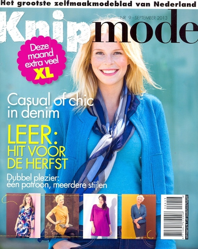 Knipmode   September 2013  cover
