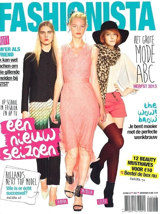 Fashionista   nummer 10   Cover