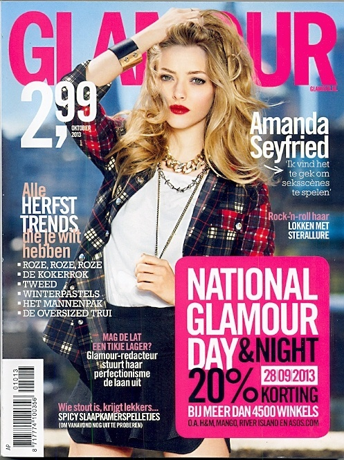 Glamour   Oktober 2013   Cover