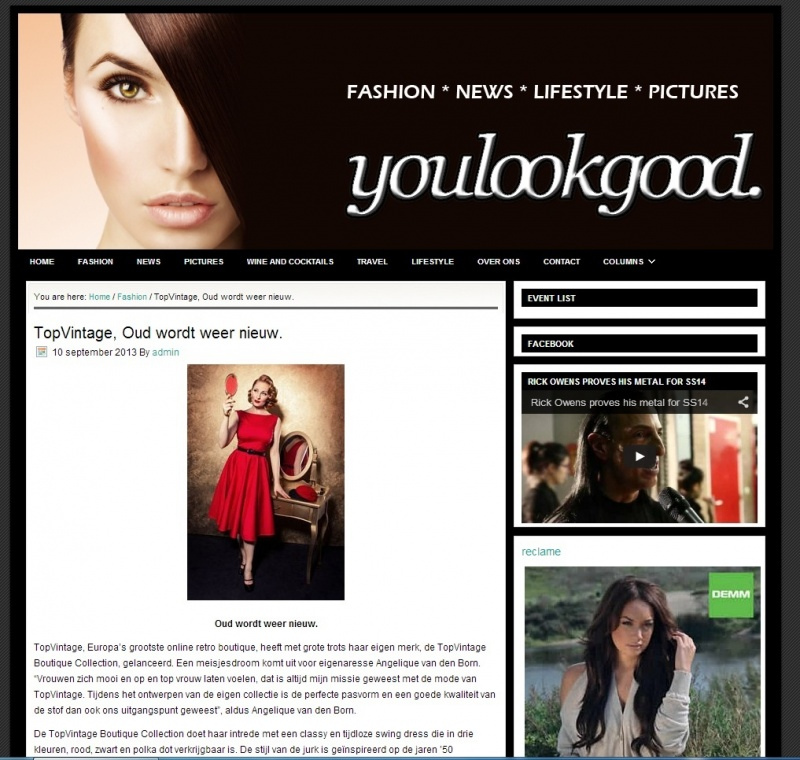youlookgood nl   10 september   TopVintage Boutique Collection 1
