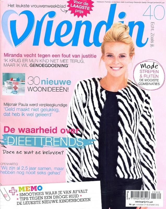 Vriendin   Nr 40   Cover