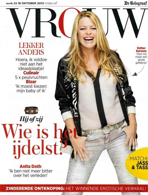 Vrouw   18 Oktober 2013   Cover