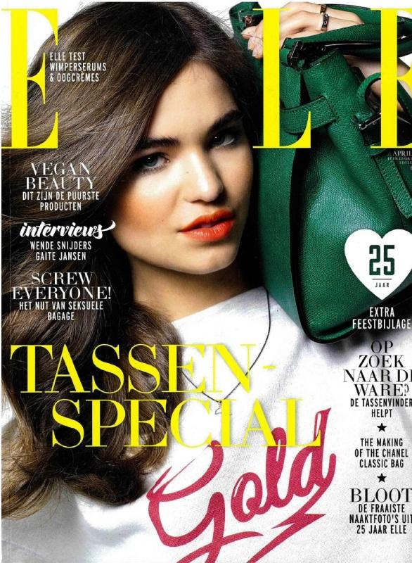 ELLE   April 2014   Cover