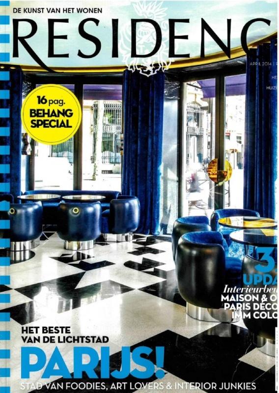 Residence   April   Cover