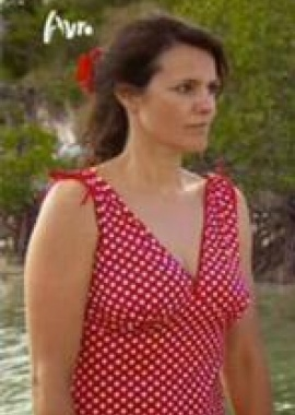 Susan Visser Anna Polka Dots Red Dress