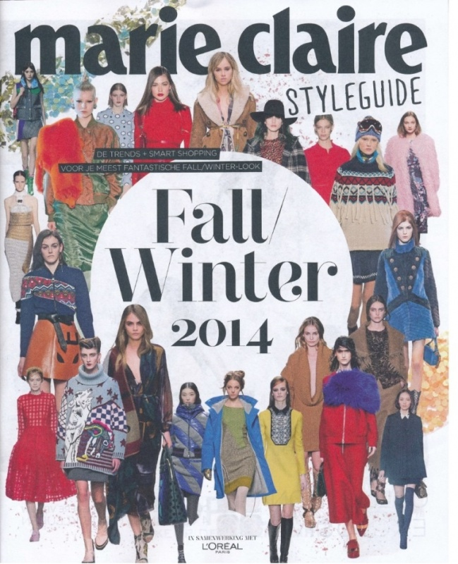 Marie Claire   Styleguide   Cover