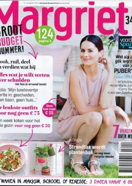 Margriet   Nr  34   Cover